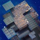 Tarjeta de circuitos impresos de múltiples capas