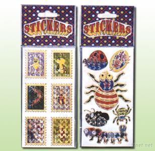 Laser Gilded Sticker