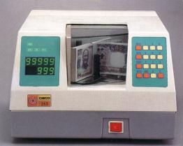 기계를 세는 탁상용 은행권