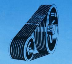 De automobiele belt/V-Riem van de Ventilator