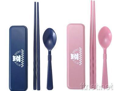 Colored Bear Chopsticks Set