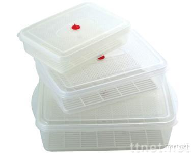 3-in-1 Multi-functional Food Storage Container