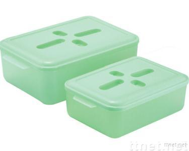 Rectangle 2-in-1 Food Storage Container