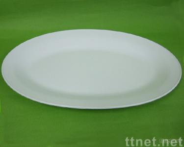 Chinese Oval Rim Plate