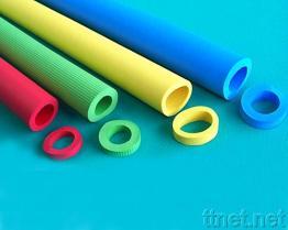 Tubo della gomma piuma di colore