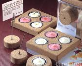 Korken-Kerzenhalter