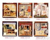 Dollhouse-Installationssätze (Minigeschäfte)