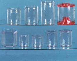 De Plastic Container van pvc