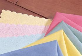 急速活動化させた清拭布を乾燥しなさい