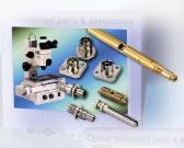 De Delen en de Assemblage van de microscoop
