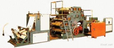 PP/PE Woven Bags Both Sides Roll To Roll Printing Press
