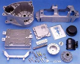 Metallgußteil-Teile