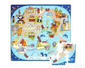 81-pieces around world foam puzzle mat
