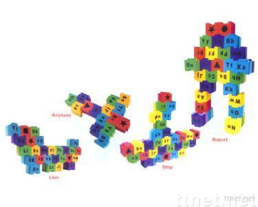 EVA Foam Creative alphabet blook set