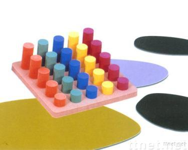 EVA Foam Cylinder sorting playboard