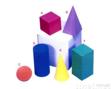 EVA Foam Giant Geometric Solid Block-6piece