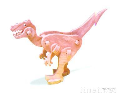 3-D EVA foam Dinosaur puzzle