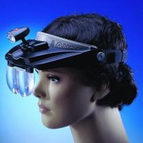 LEDのヘッドルーペ