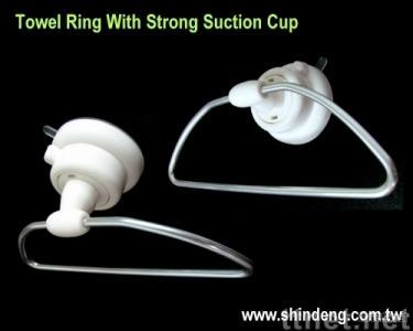 Towel Ring With Strong Suction Cup