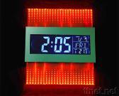 Horloge instantanée colorée