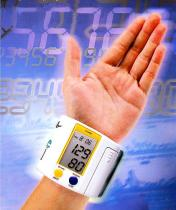Armbanduhr-Digital-Blutdruck-Monitor