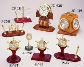 Horloges de bureau de Brassware