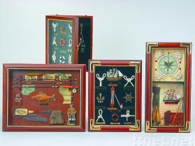 Framed Hangings & Cabinets