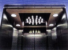 Het Plafond van de cabine