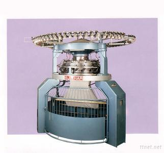 Jacquard Rib Eyelet Knitting Machine