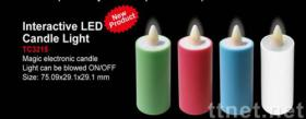INTERACTIVE LED CANDLE LIGHT
