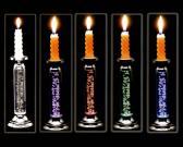 Schillernde Kerze-Halter