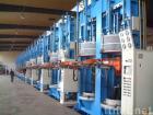 Radial tire hydraulic curing machine