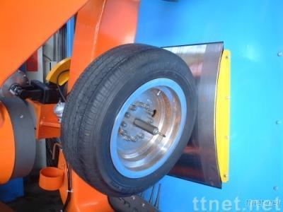 Tire drum testing machine