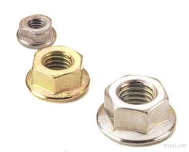 Hex Nut with Flange