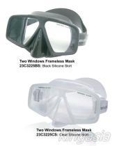 Het Duiken van Frameless van twee Vensters Masker