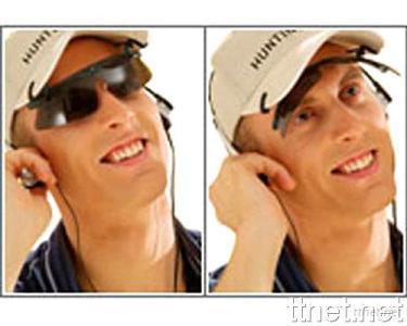 Clip Cap Brim Sunglasses