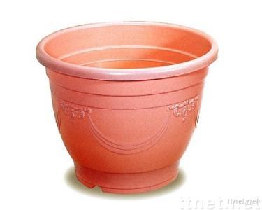 Art/Round Flower Pot