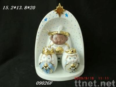 Ceramic Nativity Sset