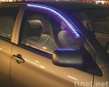 Window Visors With  Full LEDs Decoration