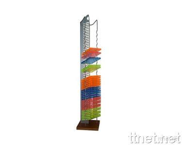 Metal CD Tower for 57 CDs