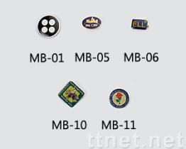 Metallabzeichen