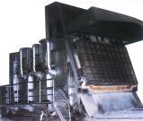 Aluminium löst Öfen auf