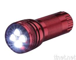 4 pcs LED's Power Flashlight