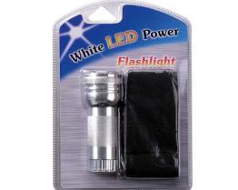 White LED Power Flashlight