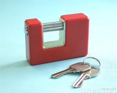 Solid Padlock with Plastic Cover