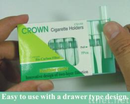 Kronen-Zigaretten-Filter