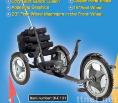 de Kar van 3 Sporten van het wiel (met Video die spelen)