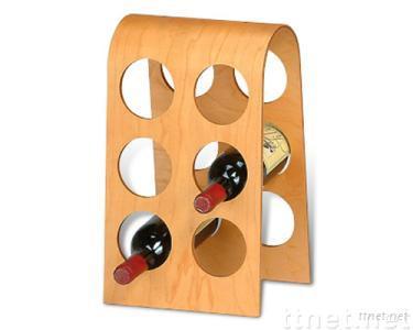 6 Bottles Wine Rack
