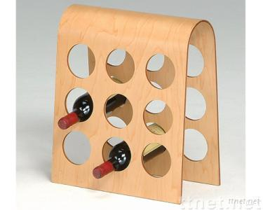 9 Bottles Wine Rack