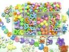 多彩なプラスチックビード